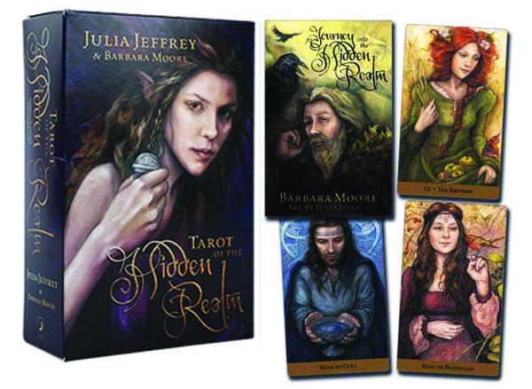 Tarot of The Hidden Realm by Julia Jeffrey, Barbara Moore