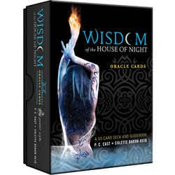 Wisdom of the House of Night Oracle Cards  A 50-card Deck and Guidebook av P C Cast, Collette Baron-Reid
