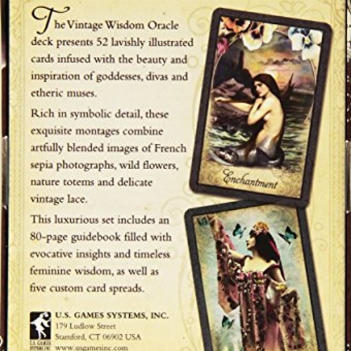 Vintage Wisdom Oracle in English