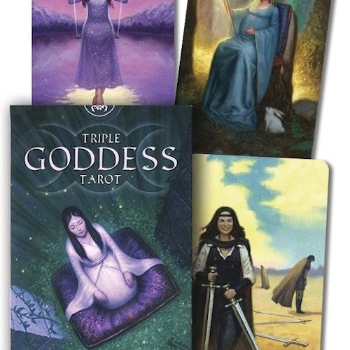 Triple Goddess Tarot by Jaymi Elford, Artist Franco Rivolli