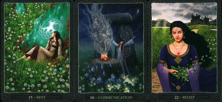 Earth Wisdom Oracle Cards av Barbara Moore
