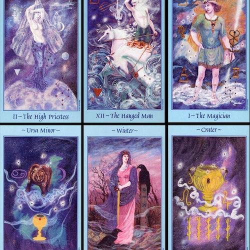 Celestial Tarot Deck  by Kay Steventon, Brian Clark
