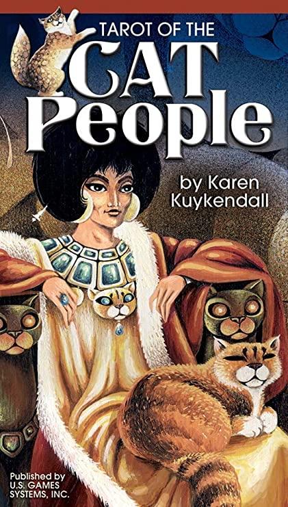 Tarot of the Cat People Deck by Karen Kuykendall