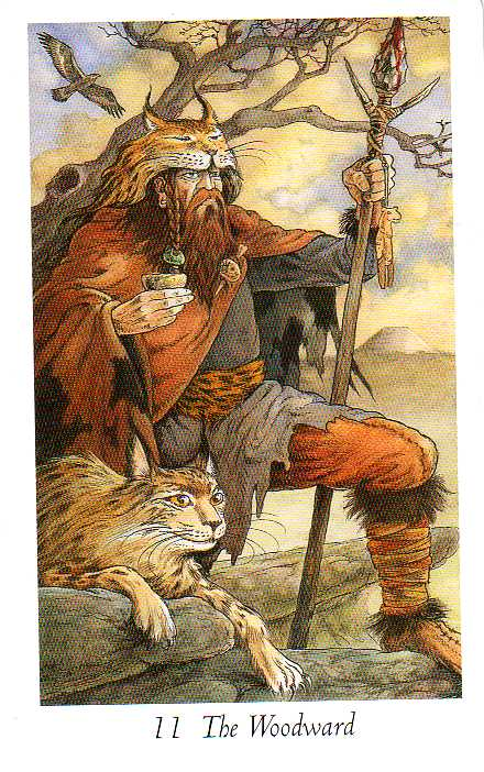 The Wildwood Tarot  Wherein Widsom Resides - Mark Ryan, John Matthews