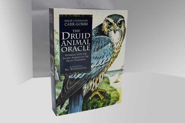 The Druid Animal Book & Card set by Philip & Stephanie Carr-Gomm Illustrated by Will Worthington