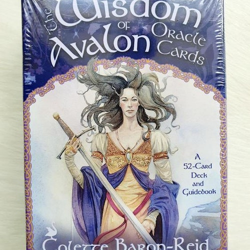 Wisdom of Avalon Oracle Cards by Collette Baron-Reid