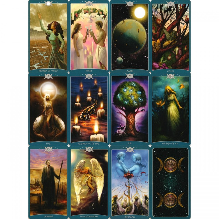 As above - So below - The book of Shadows Tarot volume I  by Barbara Moore