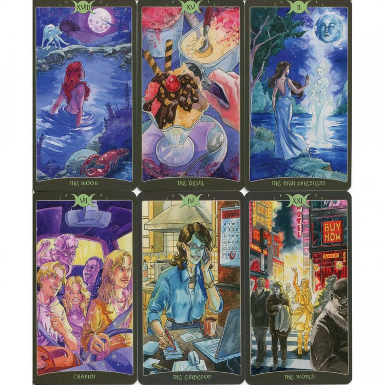 As above - So below - The book of Shadows Tarot volume II  by Barbara Moore