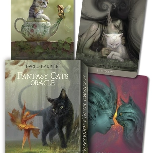 Fantasy Cats Oracle av Paolo Barbieri