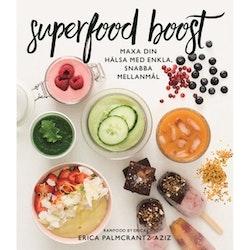 Superfood boost : maxa din hälsa med enkla, snabba mellanmål av Erica Palmcrantz Aziz