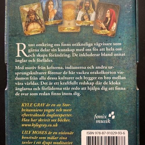 Änglar och förfäder orakelkort av Kyle Gray - på svenska