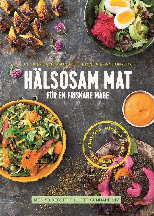 Hälsosam mat för en friskare mage : med 50 recept till ett sundare liv av Cecilia Davidsson