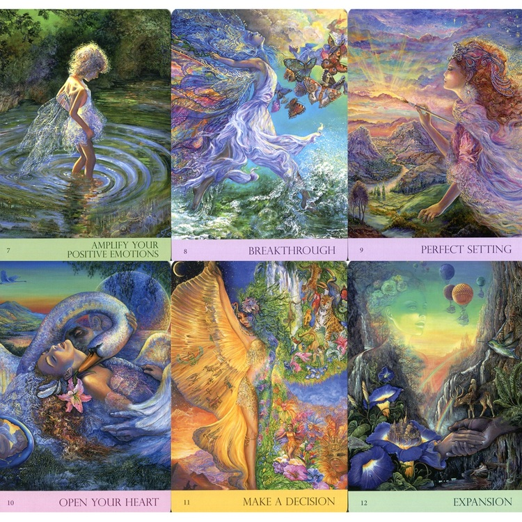 Nature's Whispers Oracle Cards  by Angela Hartfield, Josephine Wall