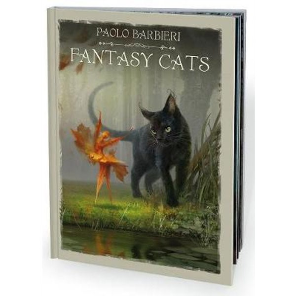 Barbieri Fantasy Cats Book  by Paolo Barbieri