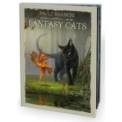 Barbieri Fantasy Cats Book  by Paolo Barbieri
