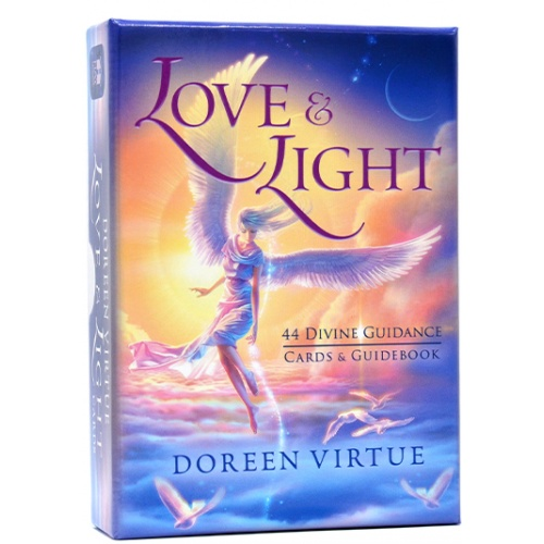 Love & Light  44 Divine Guidance Cards and Guidebook by Doreen Virtue