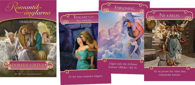 Romantikänglarna orakelkort av Doreen Virtue