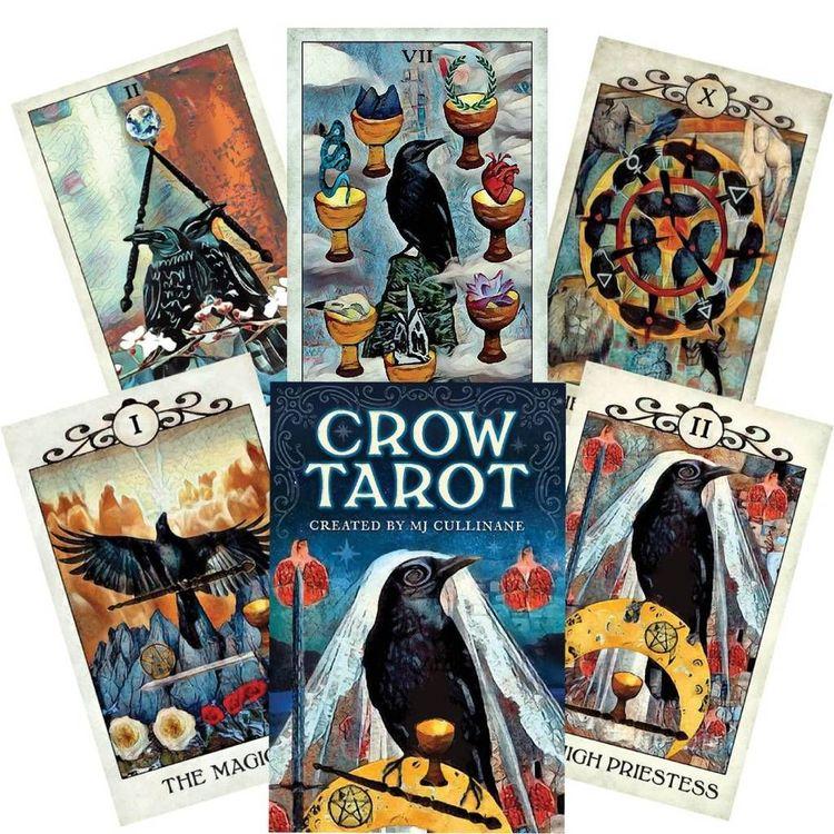 Crow Tarot by Mj Cullinane