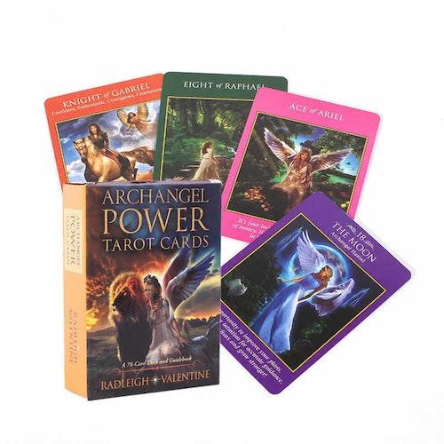 Archangel Power Tarot Cards  A 78-Card Deck and Guidebook av Radleigh Valentine