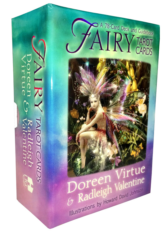 Fairy Tarot Cards: A 78-Card Deck and Guidebook by Radleigh Valentine