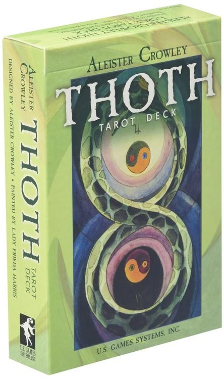 Large Thoth Tarot Deck av Aleister Crowley