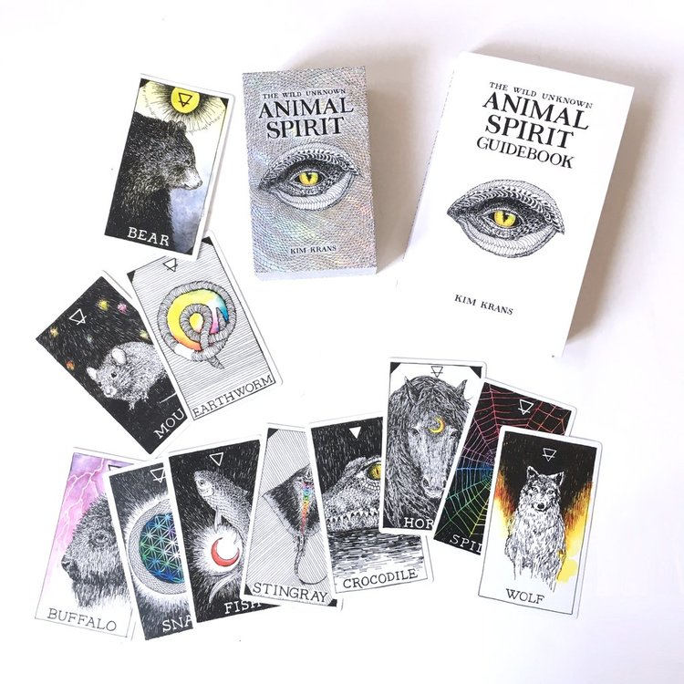 The Wild Unknown Animal Spirit Deck and Guidebook (Official Keepsake Box Set)  by Kim Krans