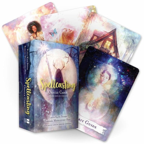 Spellcasting Oracle Cards : A 48-Card Deck and Guidebook