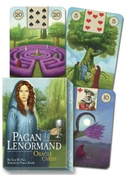 Pagan Lenormand Oracle Cards by Gina M. Pace