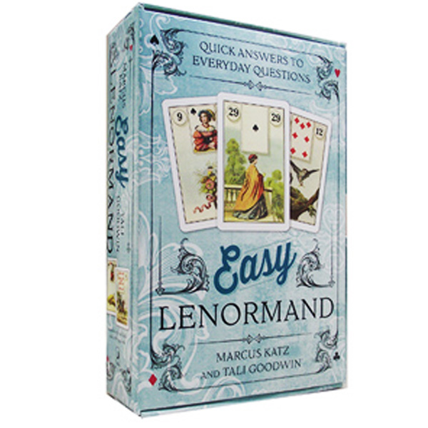 Easy Lenormand  Quick Answers to Everyday Questions by Marcus Katz, Tali Goodwin