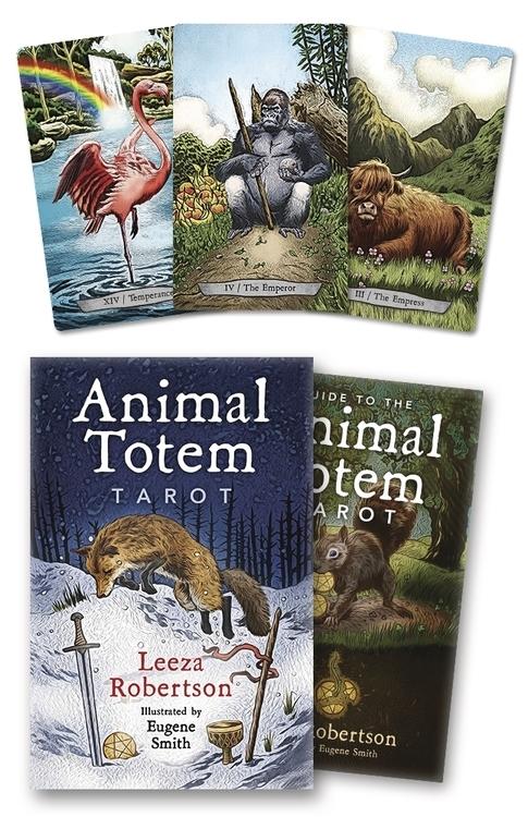 Animal Totem Tarot Leeza Robertson Eugene Smith