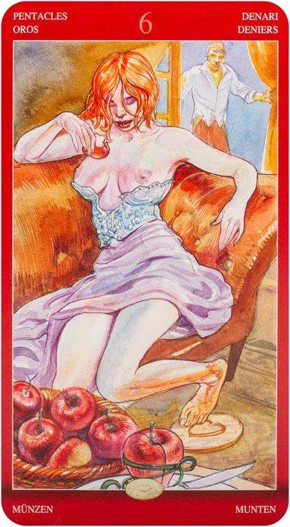 Tarot of Sexual Magic by Laura Tuan, Mauro De Luca