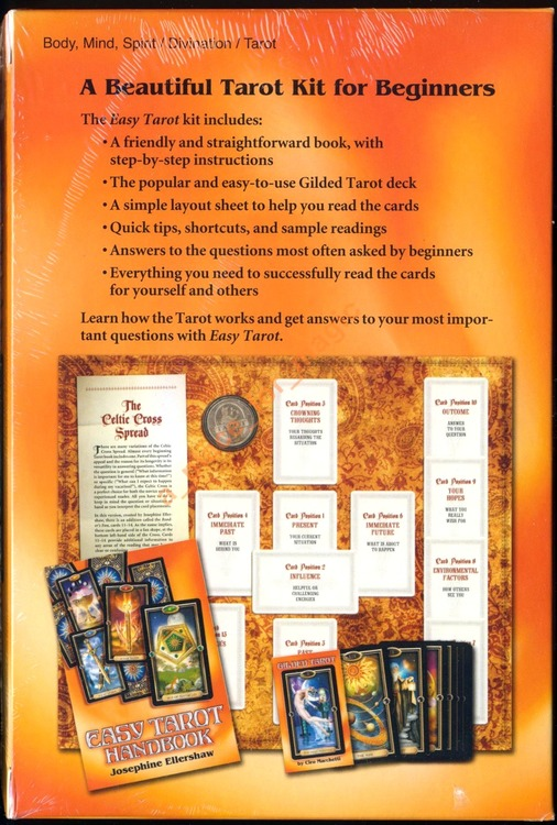 Gilded Tarot in the Easy Tarot kit - Ciro Marchetti/Josephine Ellershaw