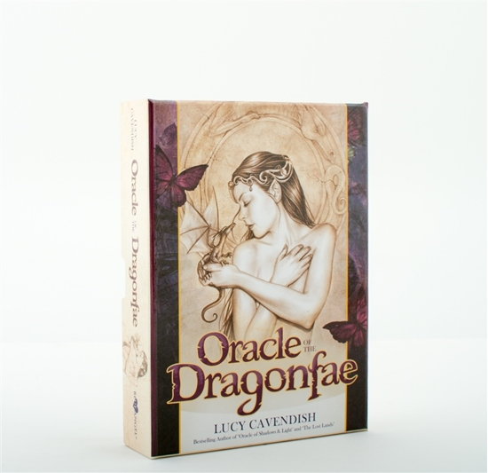 Oracle of the Dragonfae  Oracle Card and Book Set by Lucy Cavendish