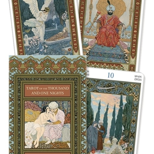 Tarot of the thousand and one 1001 Nights Deck by Bepi Vigna