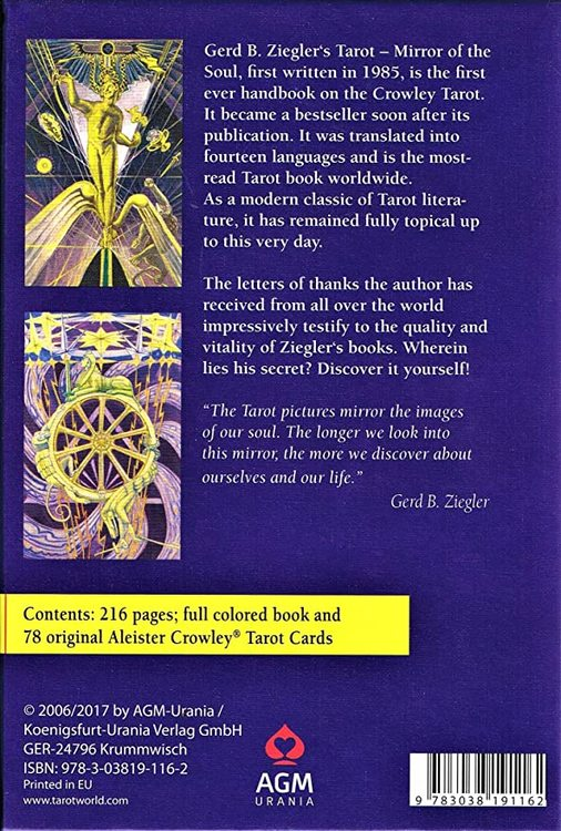 Crowley Thoth Tarot - Mirror of the Soul Set by Gerd Ziegler