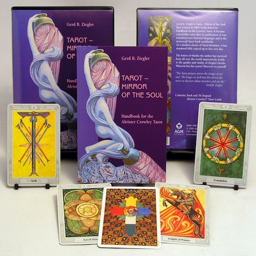 Crowley Thoth Tarot - Mirror of the Soul Set by Gerd Ziegler