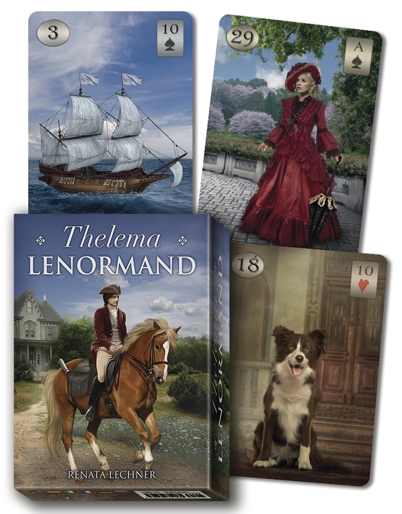 Thelema Lenormand Oracle Illustrated by Renata Lechner