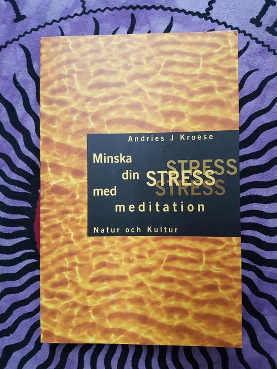 Minska din stress med meditation av Andries J Kroese