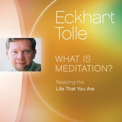 Eckhart Tolle - What is Meditation? 64 min CD-Audio.