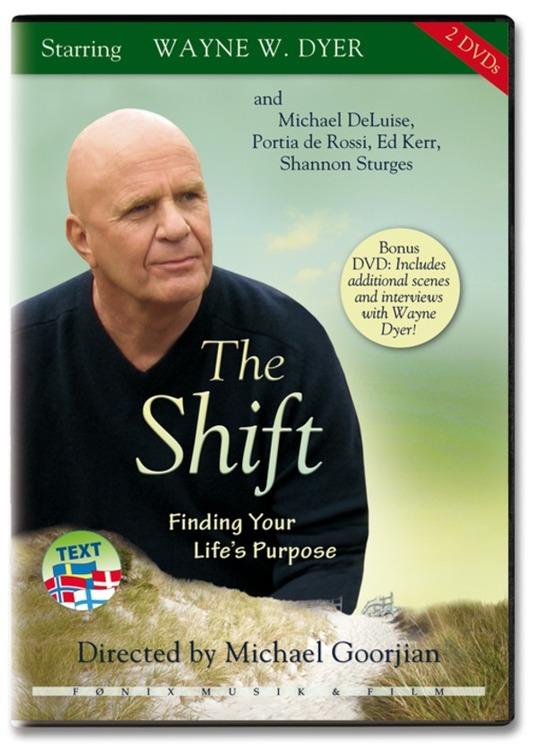 THE SHIFT - Finding your life's purpose av Wayne W. Dyer (Dubbel-DVD)