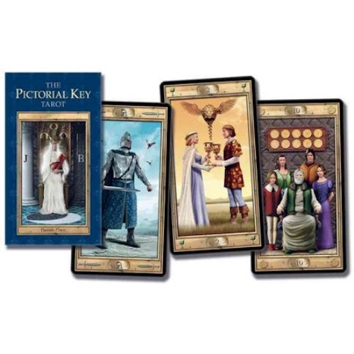 The Pictorial Key Tarot Card Deck by Davide Corsi