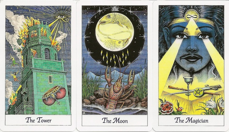 English Cosmic Tarot - Norbert Lösche