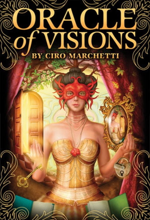 Oracle of Visions (52-card deck & Instruction booklet)by Ciro Marchetti
