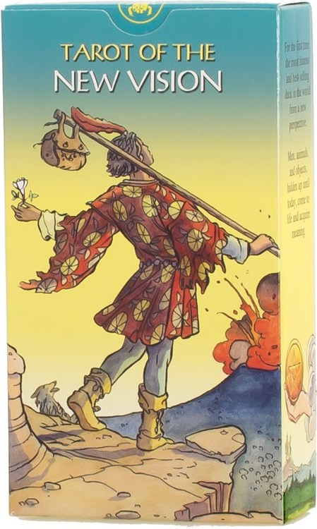 Tarot of The New Vision Deck by Pietro Alligo, Giordano Berti & Tiberio Gonard