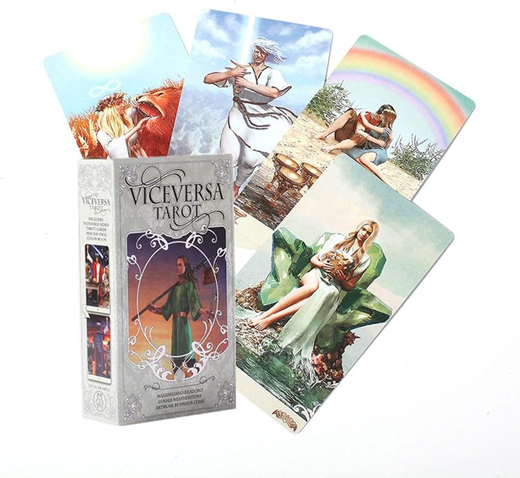 Viceversa / Vice-Versa / Vice Versa Tarot kit by Massimiliano Filadoro