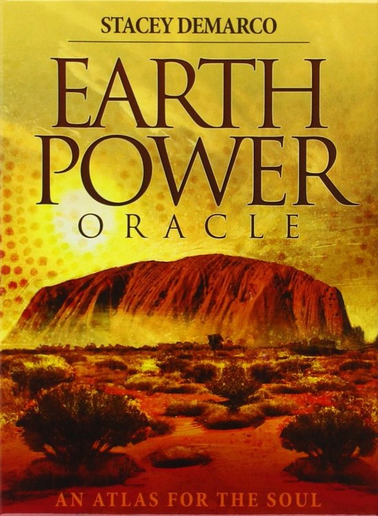 Earth Power Oracle An Atlas for the Soul by Stacey Demarco
