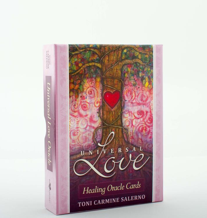 Universal Love: Healing Oracle Cards by Toni Carmine Salerno