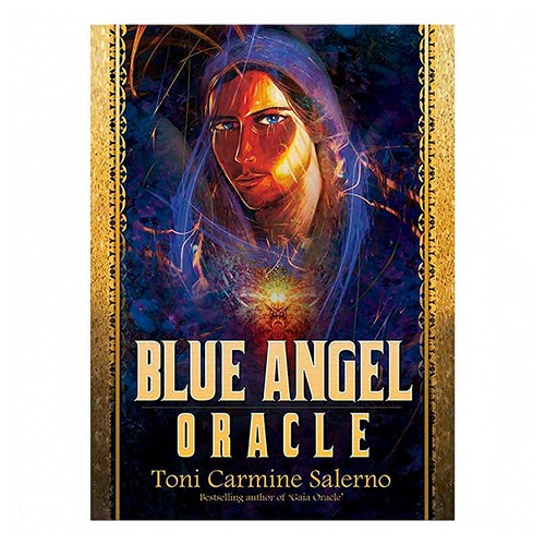 Blue Angel Oracle by Toni Carmine Salerno