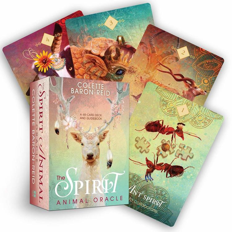 The Spirit Animal Oracle: A 68-Card Deck and Guidebook by Colette Baron Reid
