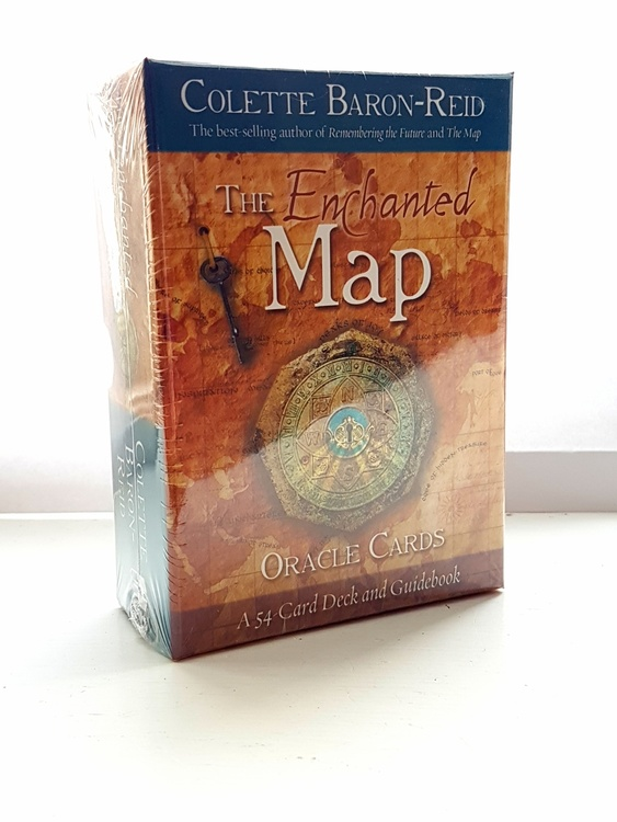 Enchanted Map Oracle Cards by Colette Baron-Reid